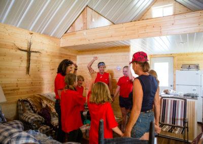 Faith Hope Love Riding Academy Prayer at Horse Camps