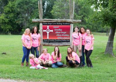 Horse Camps Group Photo Faith Hope Love Riding Academy